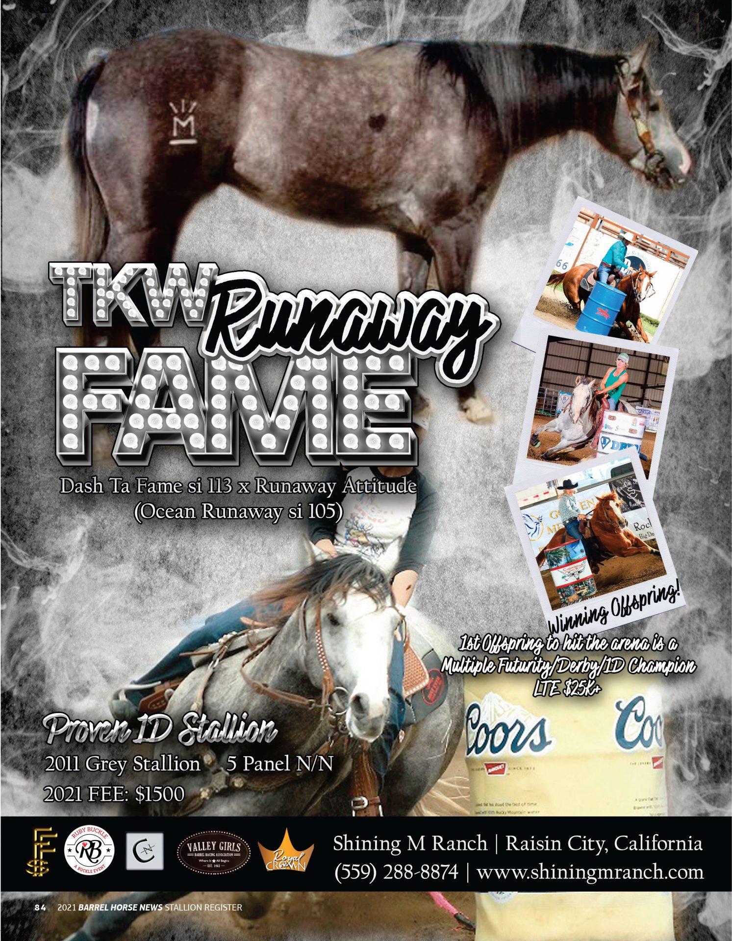 TKW Runaway Fame